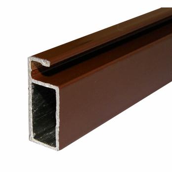 Профиль рамный для москитной сетки коричневый
