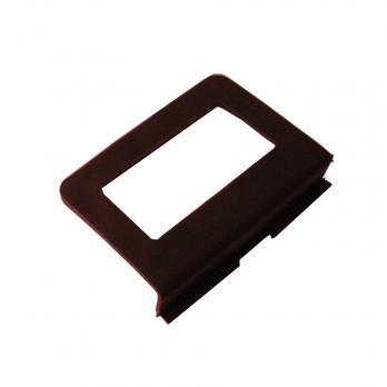 Ручка ПВХ большая для москитной сетки под шнур коричневая