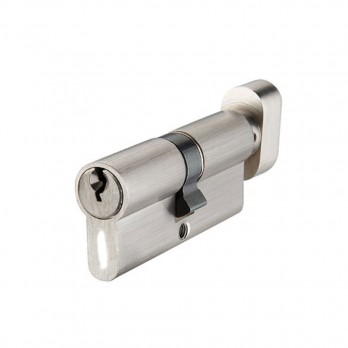 Профильный цилиндр ключ/барашек 35*45мм, ручка, Р6